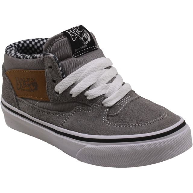 Vans Youth Half Cab (6 oz Canvas) Frost Gray