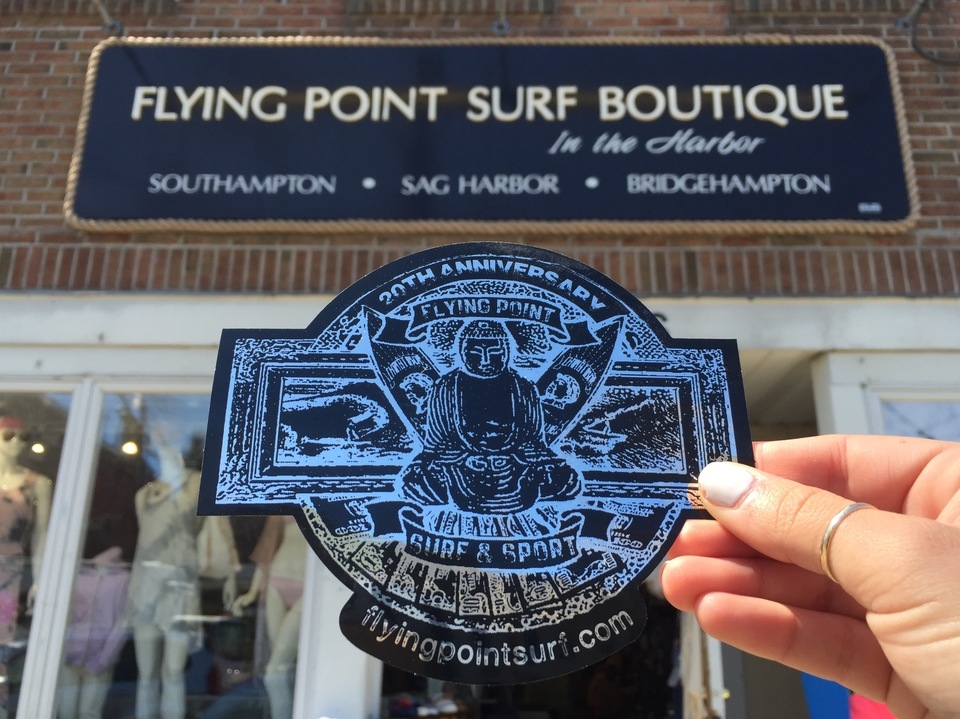 Flying Point Surf Boutique in the Harbor
